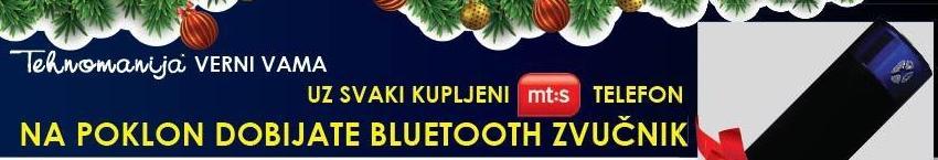 Bluetooth zvučnik na poklon