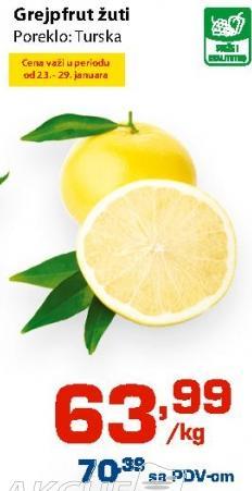 Grejpfrut žuti