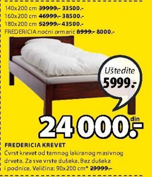 Krevet Frederica