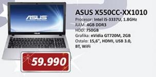 Laptop X550CC-XX1010