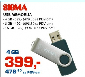 Usb Flash Memorija 16Gb