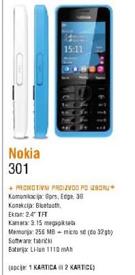 Mobilni telefon Asha 301
