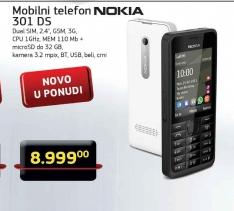 Telefon mobilni 301 DS
