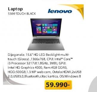 Laptop S500 TOUCH