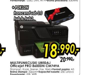 Multifunkcijski uređaj PRO 8600DN CM749A