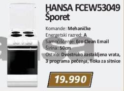 Električni šporet Fcew53049