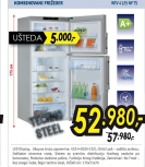 Kombinovani frižider WTV 4125 NF TS