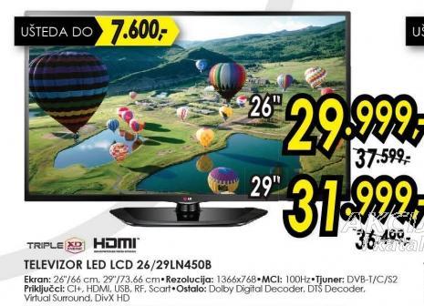 """Televizor LED 26"""" 26LN450B"""
