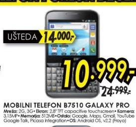 Mobilni telefon B7510 GALAXY PRO