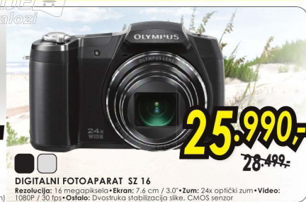 Digitalni fotoaparat SZ-16