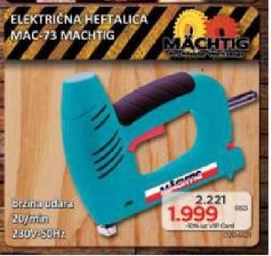 Električna Heftalica MAC 73