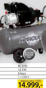 Klipni kompresor Fc2/50