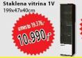 Staklena vitrina 1V