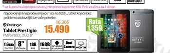 Tablet PMP5780D_DUO 8