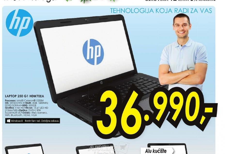 Laptop 250 G1 H0W70EA