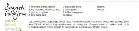 Čitaoci su poslali svoje recepte