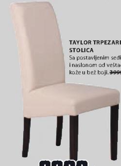 Trpezarijska stolica TAYLOR