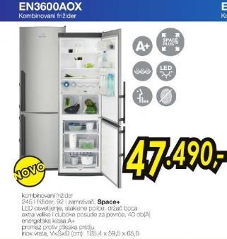 Frižider kombinovani EN 3600 AOX