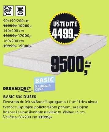 Dušek Basic S20 160x200
