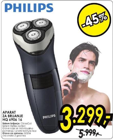 Aparat za brijanje Hq  6906 16
