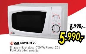 Mikrotalasna rerna Mwh-M20