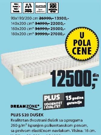 Dušek Plus S20