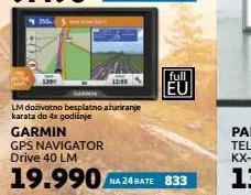 Navigacija Drive 40LM