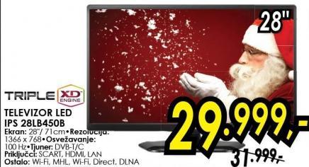 """Televizor LED 28"""" 28lb450b"""