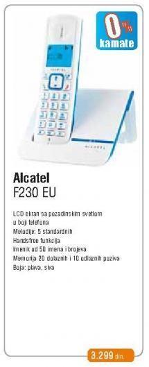 Bežični telefon F230 Eu