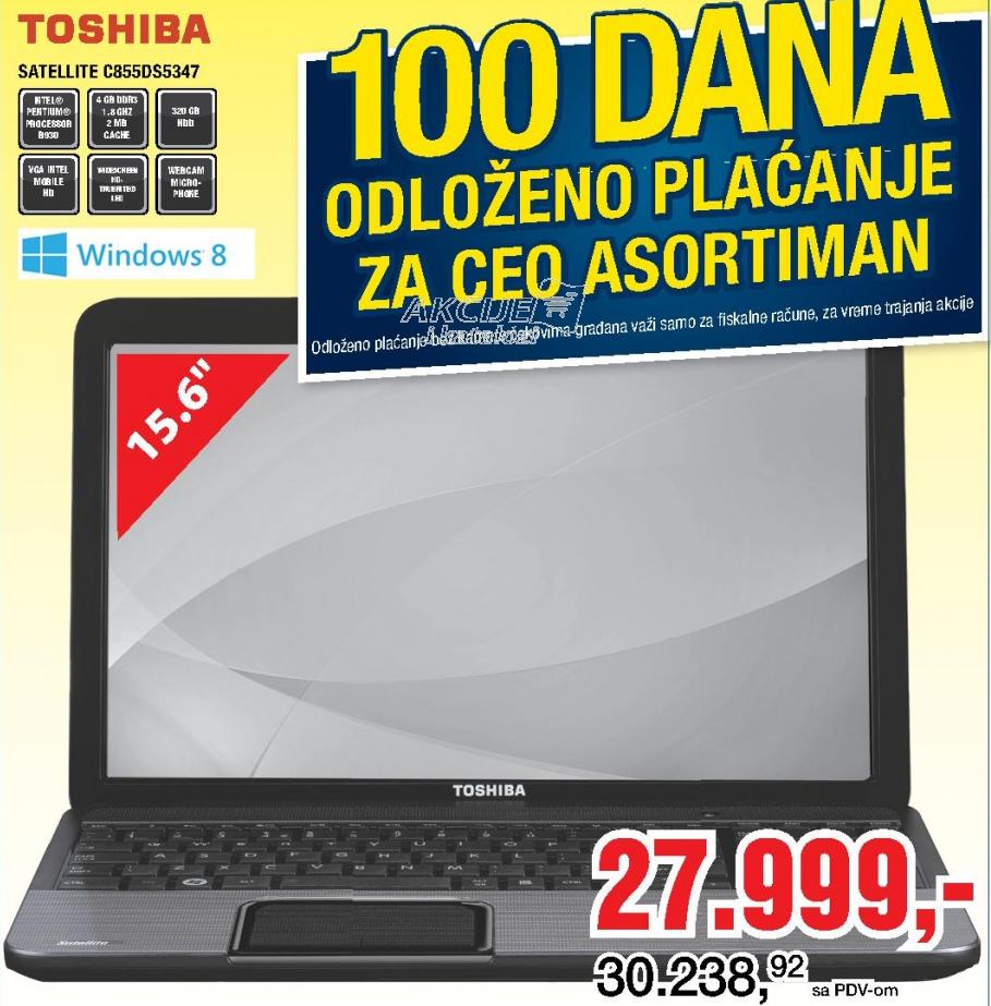 Laptop Satellite C855D-S5347