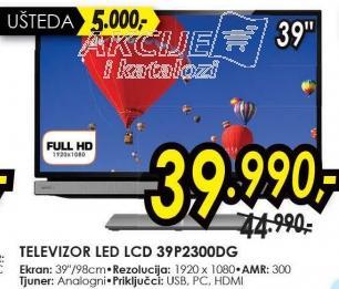 """Televizor LED 39"""" 39P2300dg"""