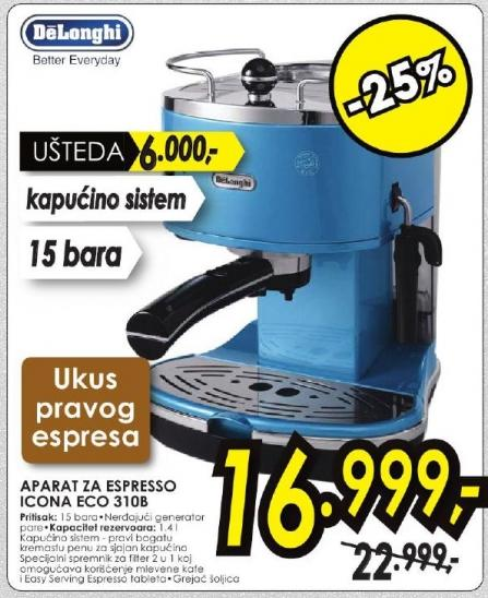 Aparat za espresso Eco 3108