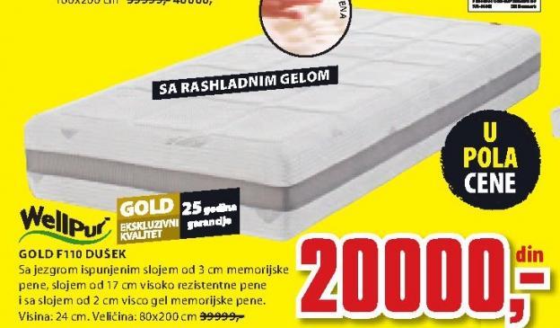 Dušek, Gold F110