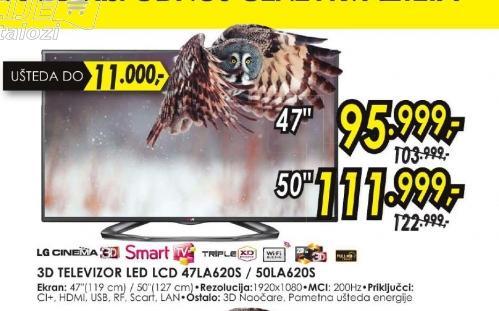 Televizor LED 47LA620S