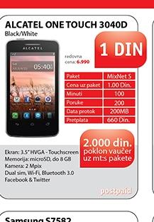 Mobilni telefon ONE TOUCH 3040D