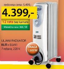 Uljni radijator Elv41