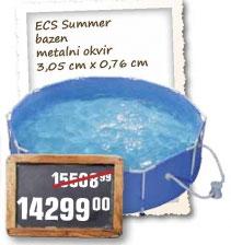 ECS summer bazen metalni okvir