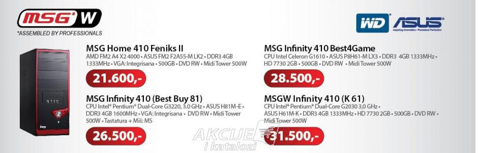Računar MSG Infinity 410