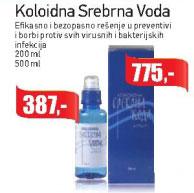 Koloidna Srebrna Voda Efikasno i bezopasno rešenje u preventivi i borbi protiv svih virusnih i bakterijskih infekcija