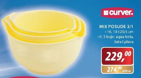 Mix posude