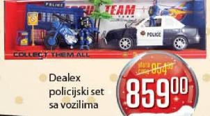 Policijski set sa vozilima