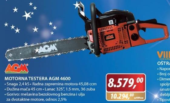 Motorna testera AGM 4600