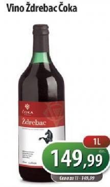 Crno vino Ždrebac