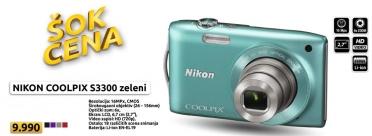 Digitalni fotoaparat Coolpix S3300