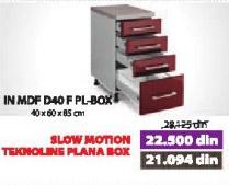 Kuhinjski element IN MDF D40 F PL-BOX moka