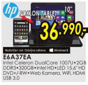 Laptop Compaq CQ58-D52SI E6A37EA+Poklon: Prestigio tablet MultiPad PMP7100C