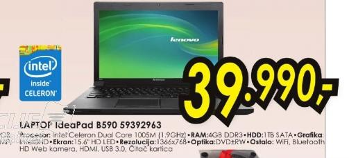 Laptop IdeaPad B590 59392963