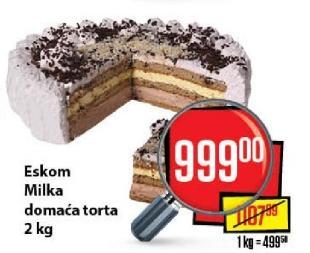 Torta Milka