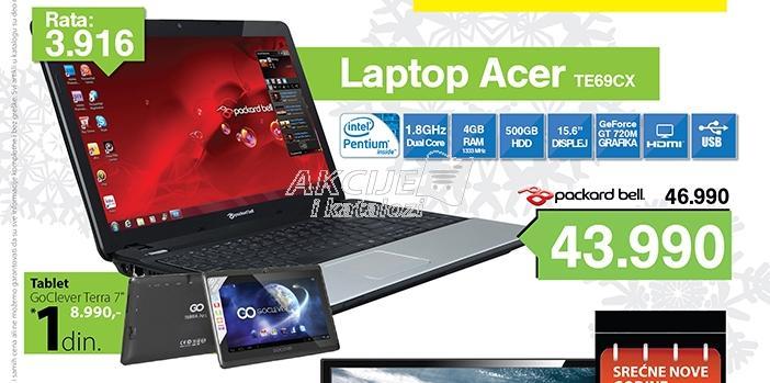 Laptop PB ENTE69CX