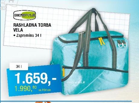 Rashladna torba Vela 34l